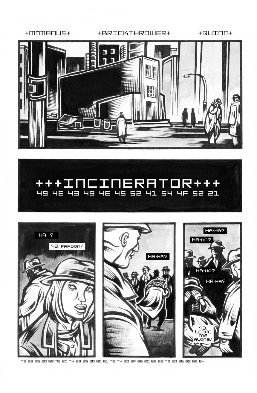 Incinerator – 1